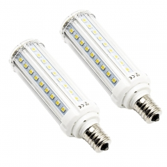E17 Corn Light LED Bulb 10W Intermediate Base LED Dayligt 6000K Bulb Garage Factory Celling Light, Non-Dimmable (2-Pack)