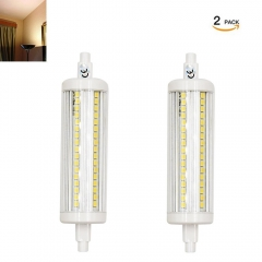 220V R7s Non-dimmable LED 118mm J118 Bulb 20W 200W Halogen Replacement for Gardens/ Corridors/Outdoor Floodlights (Pack of 2)