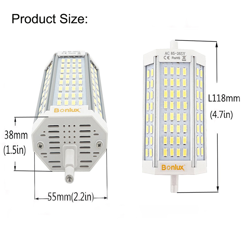 Led R7s 30w Dimmable Light Bulb Double Ended J Type J118