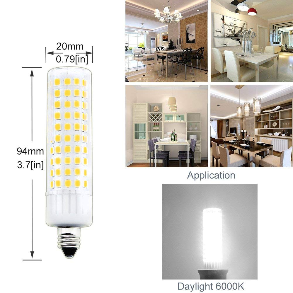 E11 Mini Candelabra Led Light Bulb 100w Equivalent Halogen
