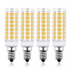 E14 LED Corn Light Bulb 7W 650LM AC95-245V Small Edison Screw LED Light Bulb Non-dimmable (4 Pack)
