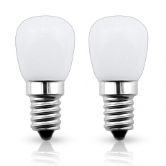 Bonlux E14 LED Bulbs 12V 2W Car Refrigerator Bulb Kitchen Lights, Closet Lights, Yachts Light (Not Dimmable, 2-Pack)