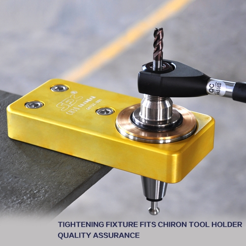 Tightenning Fixture Fits Chiron Tool Holders