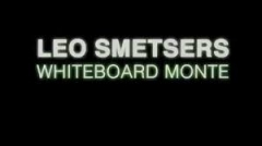 Whiteboard Monte by Leo Smetsers