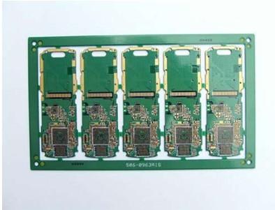 化金(无铅)六层绿阻焊PCB