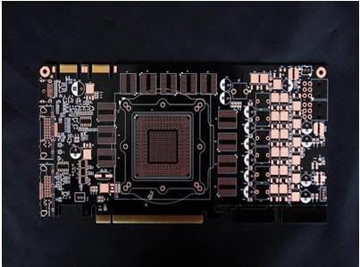 四层OSP+金手指黑阻焊PCB