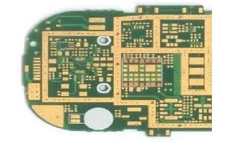化金(无铅)双面绿阻焊PCB