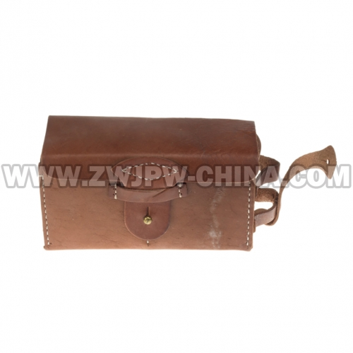 Japan WW2 Army Type 38 Leather Back Cartridge Box
