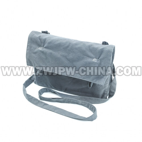 China WW2 Army Eighth Route Satchel Grey Shoulder Bag