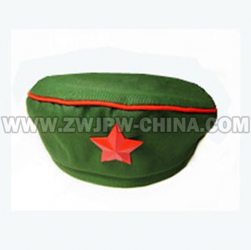 China Vietnam War Original Type 65 Women Liberation Cap With Star Insignia