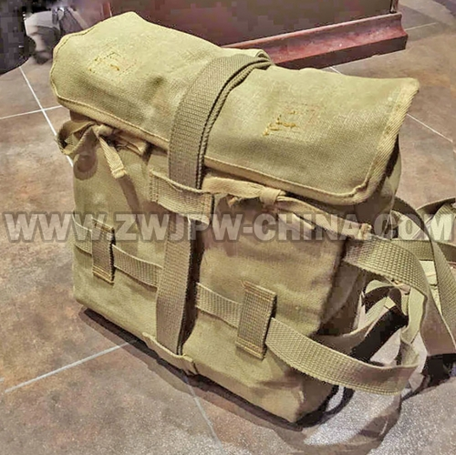 Japan WW2 Octopus Linen Flax Rucksack Pack