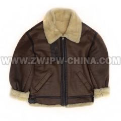 B-3 Leather Flight Jacket - Leather Jacket AW/5040304