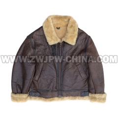 B-3 Leather Flight Jacket - Leather Jacket AW/5040301