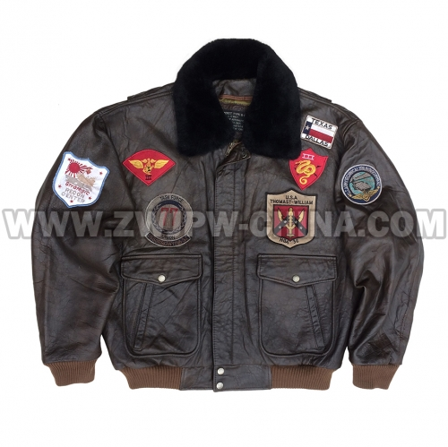 G-1 Leather Flight Jacket - Leather Jacket AW/504407