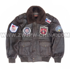 G-1 Leather Flight Jacket - Leather Jacket AW/504401