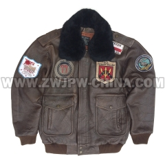 G-1 Leather Flight Jacket - Leather Jacket AW/504409