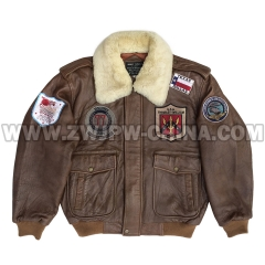 G-1 Leather Flight Jacket - Leather Jacket AW/504405