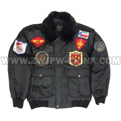 G-1 Leather Flight Jacket - Leather Jacket AW/504410