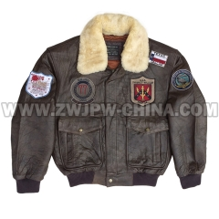 G-1 Leather Flight Jacket - Leather Jacket AW/504404