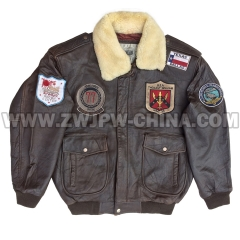 G-1 Leather Flight Jacket - Leather Jacket AW/504406