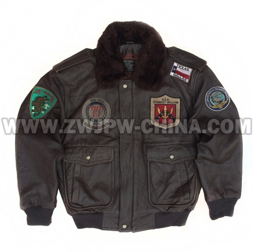 G-1 Leather Flight Jacket - Leather Jacket AW/5040413