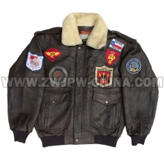 G-1 Leather Flight Jacket - Leather Jacket AW/504403
