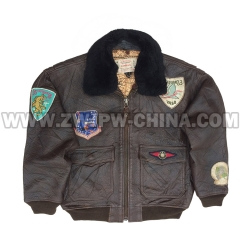 G-1 Leather Flight Jacket - Leather Jacket AW/5040414