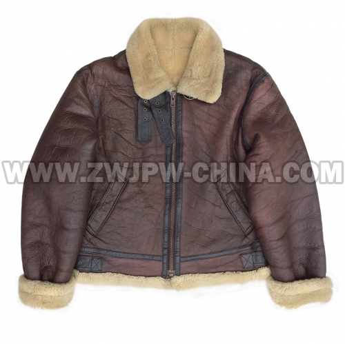 B-3 Leather Flight Jacket - Leather Jacket AW/5040303