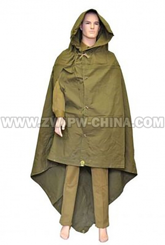 Soviet WWII Army Raincoat Camping Mat