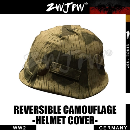 German WWII  Army M35 Camouflage Helmet Cover