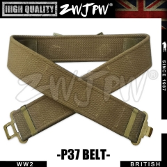 WW2 UK BRITISH ARMY P37 BELT  REPLICA ENFIELD MILITARY DUNKIRK