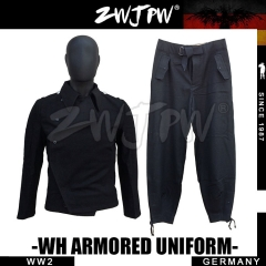 German WW2 Black Wool WH Armored Force Uniform