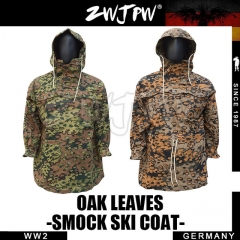 German WW2 Army Oak Leaves Reversible Smock Ski Coat