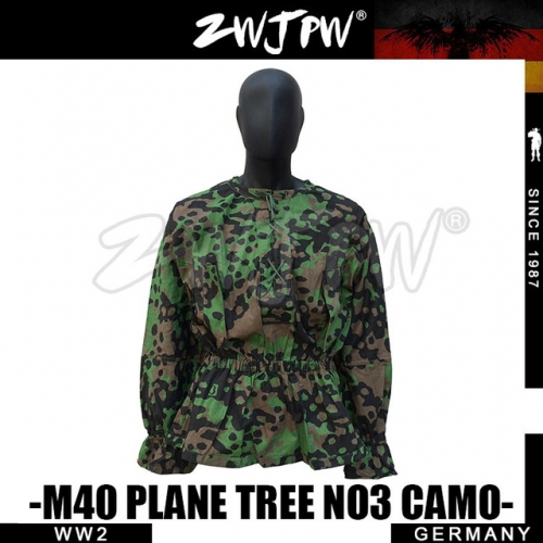 German WW2 Army Elite M40 SS Plane Tree Camo Smock
