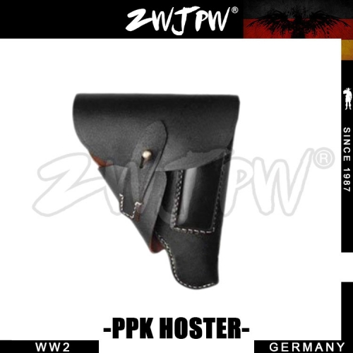 German WW2 Army Walther PPK Genuine Leather Holster
