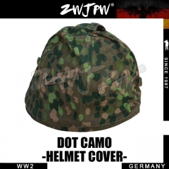 German WW2 Army SS DOT Camo M35 Helmet Cover