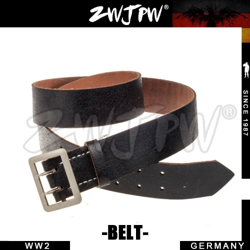 German WW2 Army Werhrmacht Officer Leather Belt