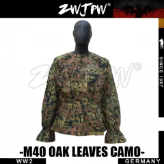 German WW2 SS Army M42 Oak Leaves Camo Hunting Smock