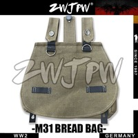 German WW2 Army Bread Bag Flax