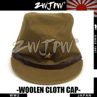 Japan WW2 Army General Officer Cap Combat Hat Woolen Cloth