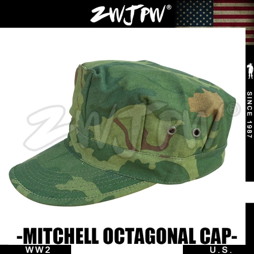 US WW2 Army Elite Mitchell Octagonal Field Cap