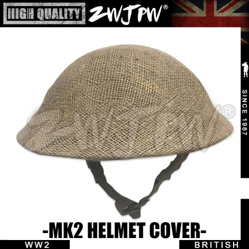 WW2 UK British mk2 Linen Helmet net cover high-quality-UK/407101
