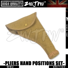 WW2 UK British Army p37 Tool sleeve Hand positions High-Quality Replica-UK/105112