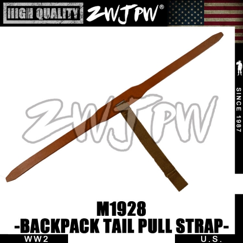 WWII WW2 M1928 BACKPACK TAIL PULL STRAP BAG ACCESSORY