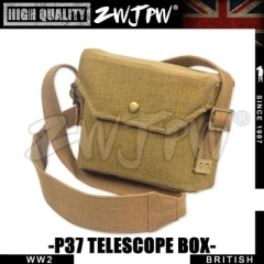 WWII WW2 UK BRITISH ARMY P37 TELESCOPE BOX HIGH QUALITY REPLICA
