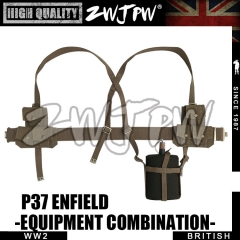 WW2 UK Army British p37 Enfield Equipment group High-Quality Replica