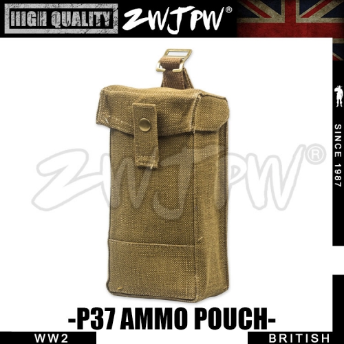 WW2 UK British Army Pure cotton Front Ammo Pouch High-Quality Replica-UK/105107