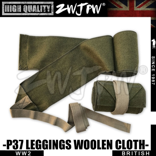 WW2 UK British Army p37 Articleswoollen cloth Leggings High-Quality Replica-UK/105102