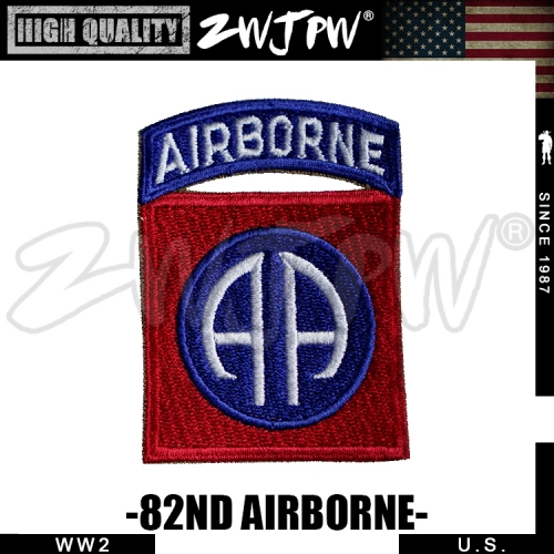 WW2 US 82ND AIRBORNE PATCH BADGE