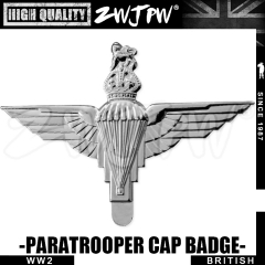 WW2 GVI BRITISH MILITARY PARATROOPER badge